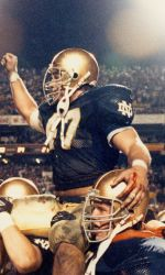 1988:  The most recent of Notre Dame's 11 National Titles